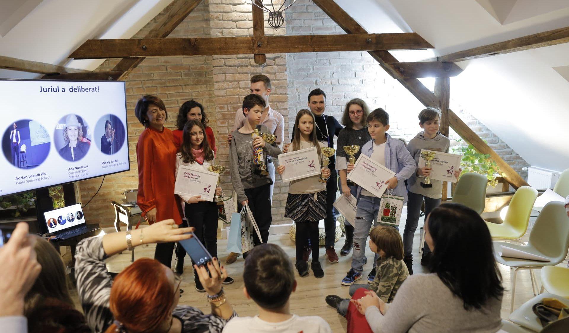 Concurs de public speaking - Public Speaking School